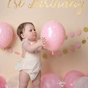 Poppy's 1st Birthday Smash