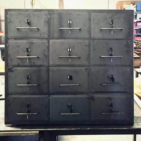 Locking Mail Box For Escape Room