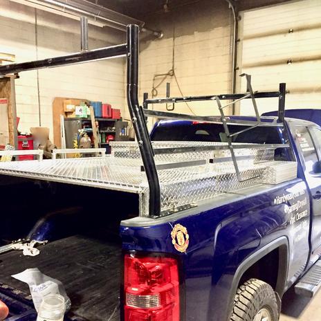 Checker Plate Aluminum Truck Topper