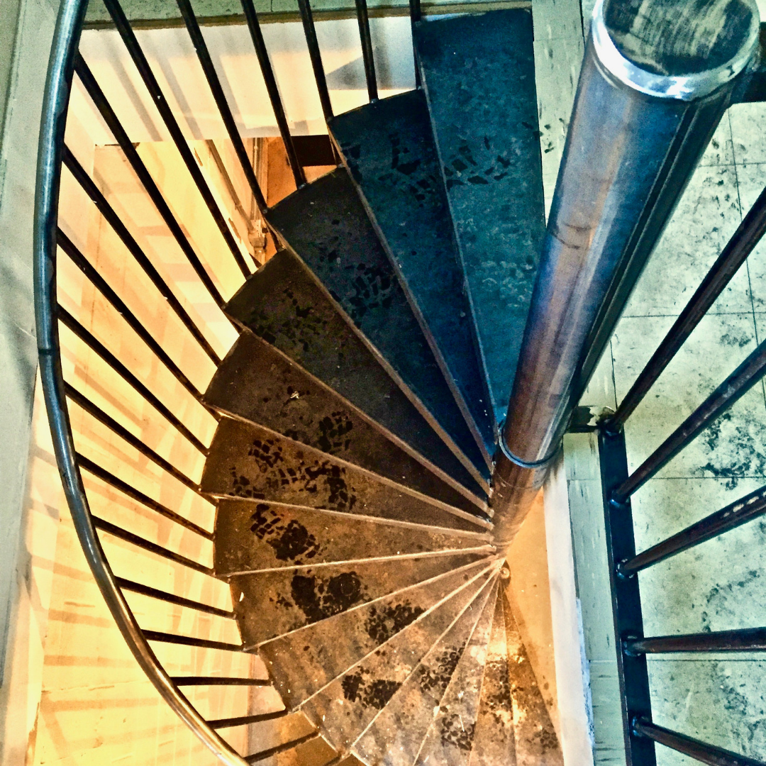 Spiral Staircase and Rail