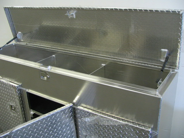 Aluminum Tool Box For In The Box Of A Truck