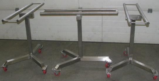 Rolling Stainless Steel Racks