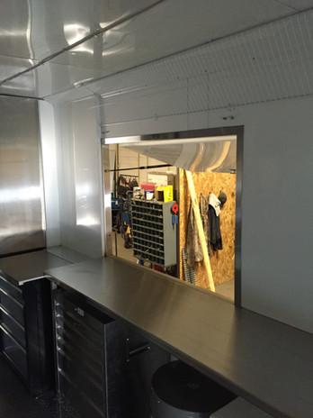 Custom Window For Food Truck