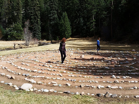 Searching for Answers? Try Walking the Labyrinth!