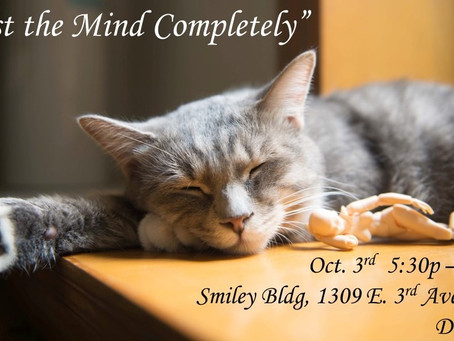 Mindfulness for Less Stress and More Sleep Workshop