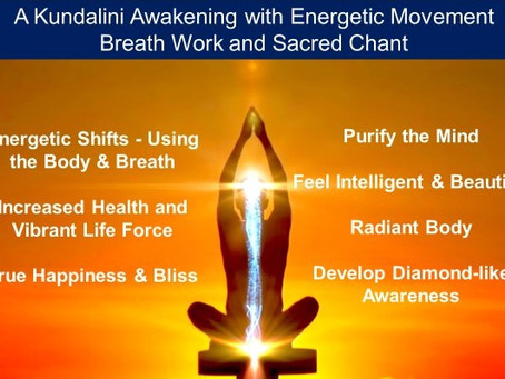 Kundalini Practice with Breath-Work Class