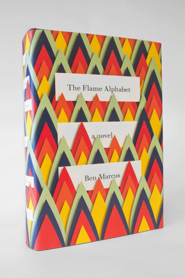 """Book jacket for """"The Flame Alphabet"""" by Ben Marcus. Designed by Peter Mendelsund."""