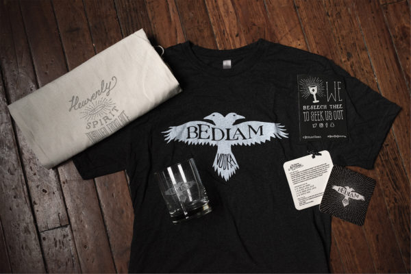 Bedlam Vodka Identity