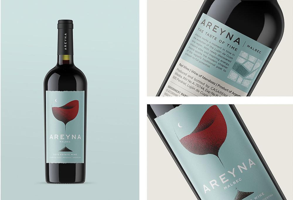 Areyna Wine Label