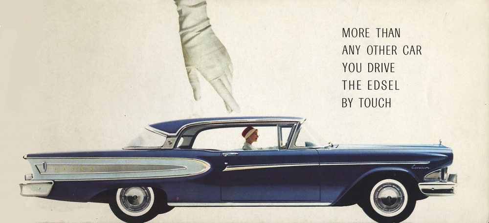 1957 Edsel Features booklet
