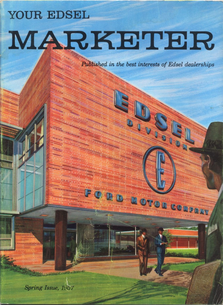 "Pre-launch ""Edsel Marketeer"" dealership magazine"