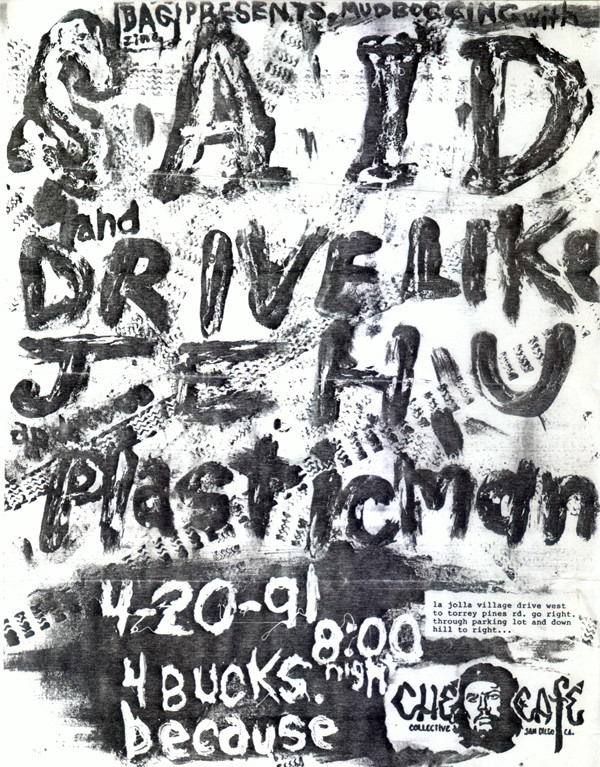 scans of punk ephemera