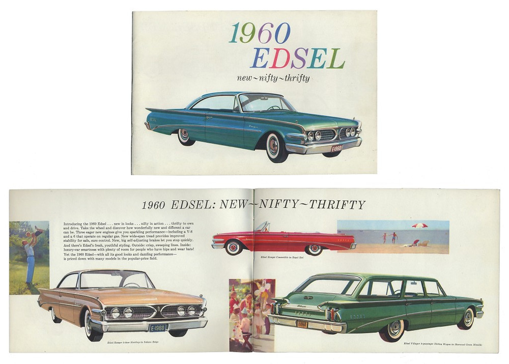 1960 Edsel sales booklet.