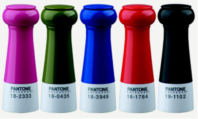 Typhoon Housewares Peppermills, the Pantone Series.