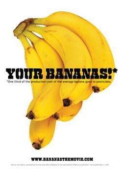 Bananas film postcard