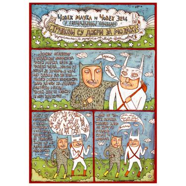 Maja Veselinovic's comics