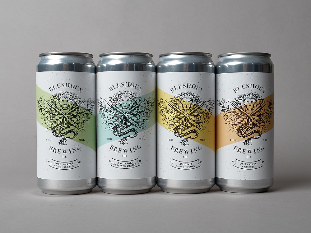 Bleshoux Brewing Packaging