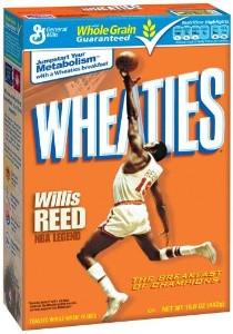 Wheaties Willis Reed