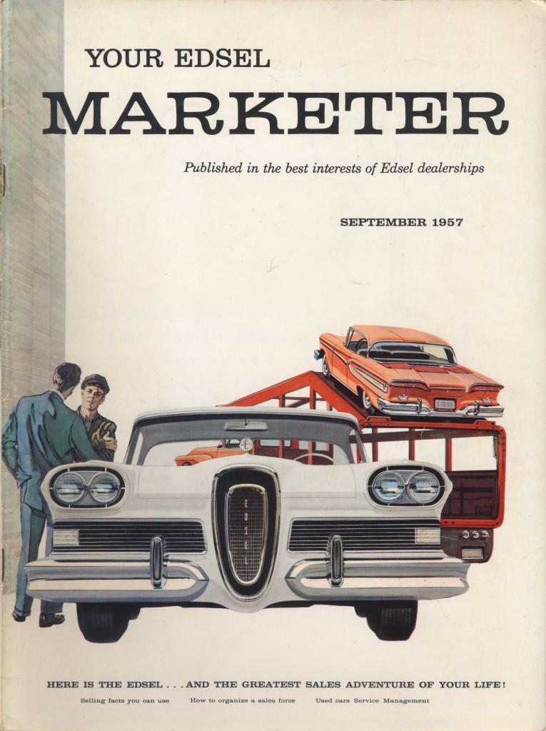 """Edsel Marketeer"""