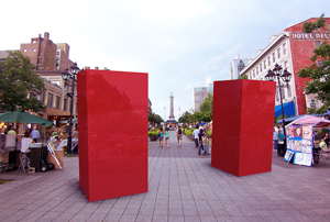 Canada's rebranding monuments.
