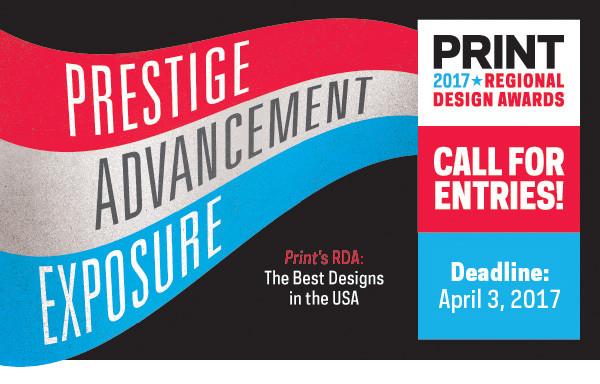 PRINT 2017 regional design awards
