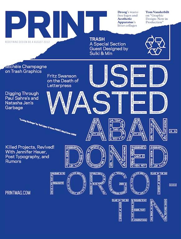 August 2012 issue of Print