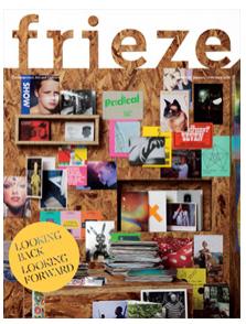 Frieze's January/February 2010 issue