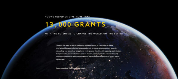 National Geographic Impact Report