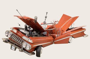 Javier Mariscal - car