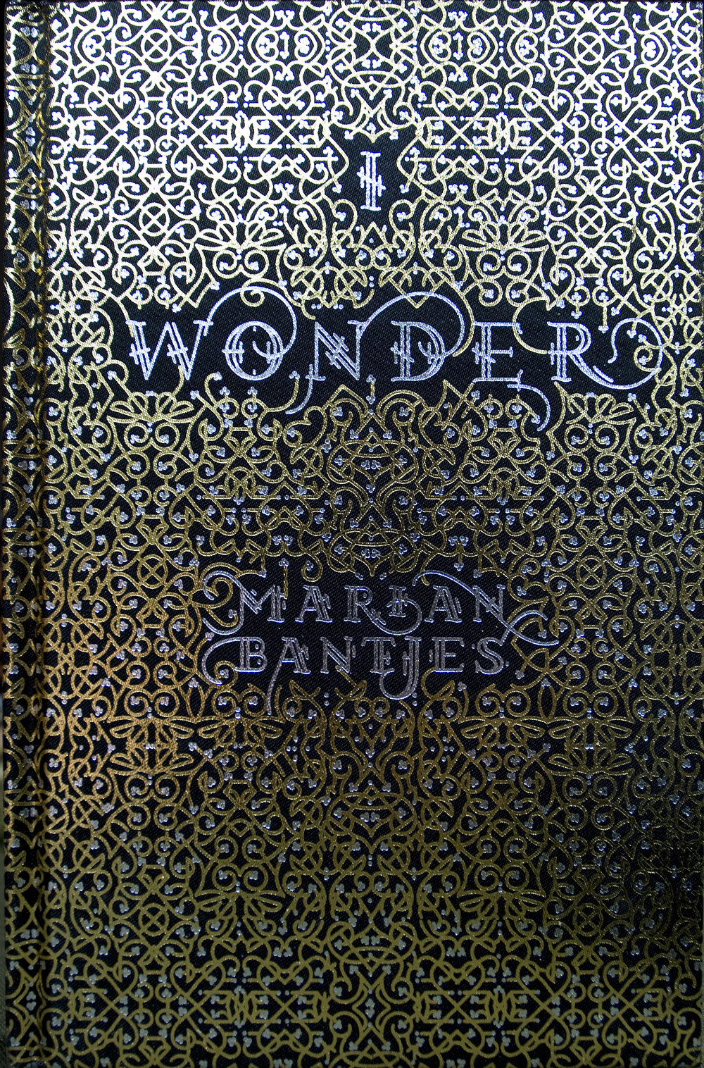 """I Wonder"" book cover by Marian Bantjes"