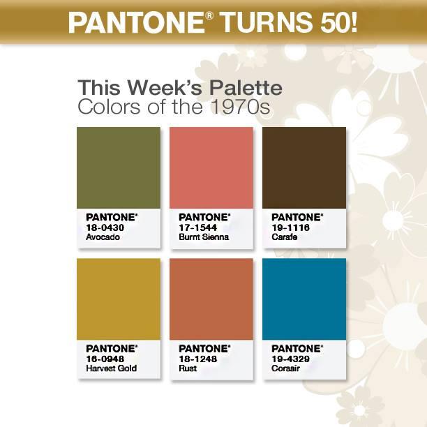 Pantone's 50th Anniversary Celebration