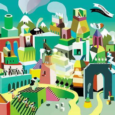 CD cover for Efterklang's Parades