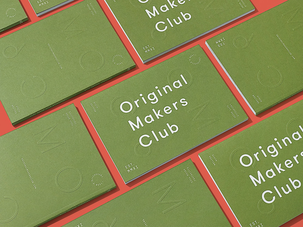 Original Makers Club Catalog Cover