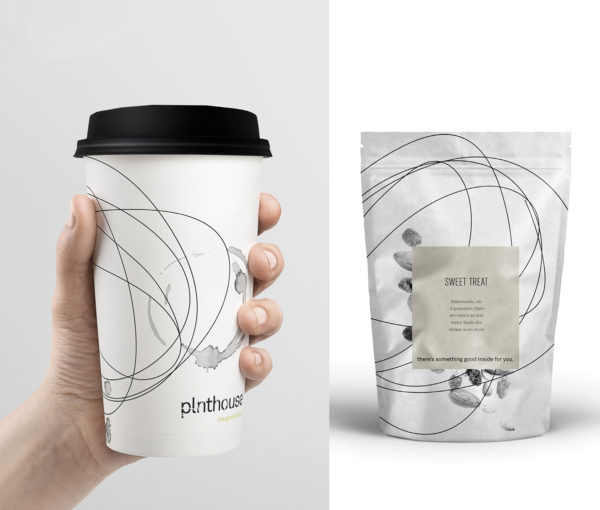 plnthouse Brand Development + Restaurant Collateral