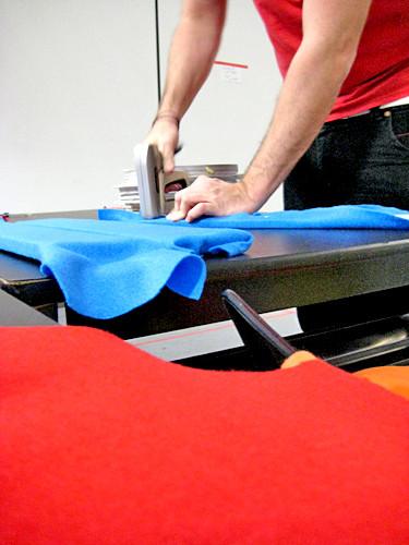cloth's making process