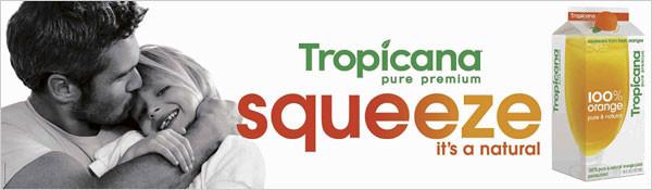 new Tropicana orange juice package