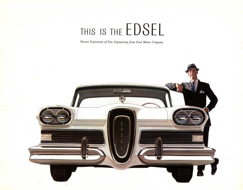 Premium 1957 Edsel Sales Brochure