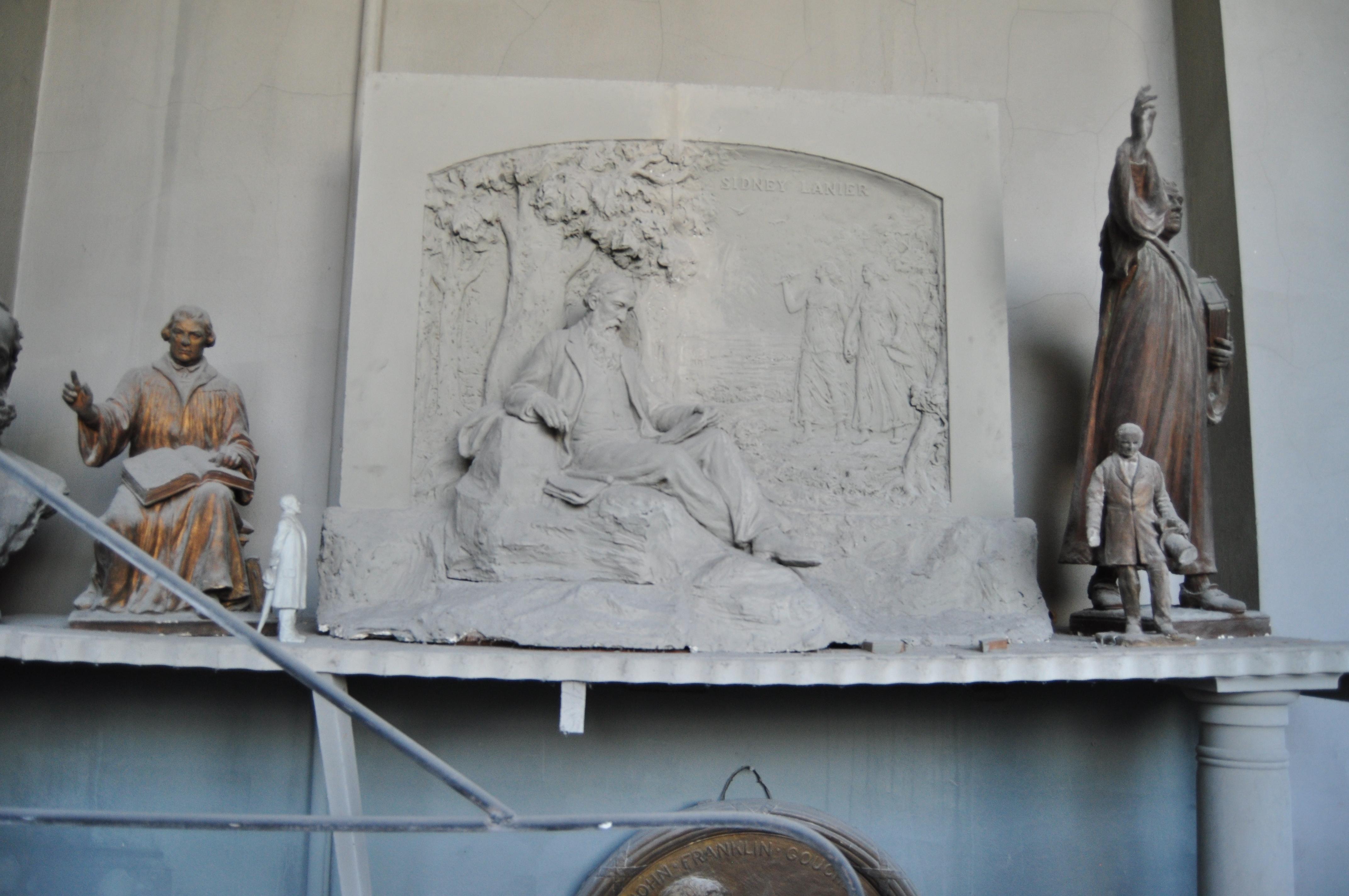 Hans Schuler Sydney Lanier Relief