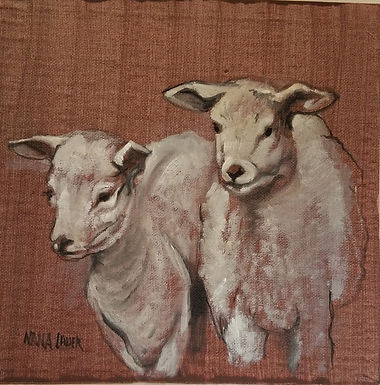 Sheep Grisaille