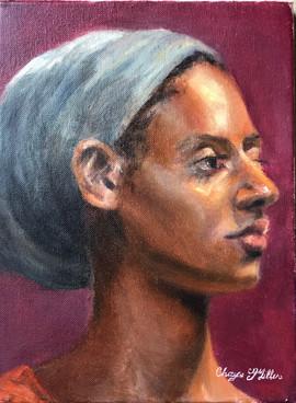 Portrait of Nigerian Lady