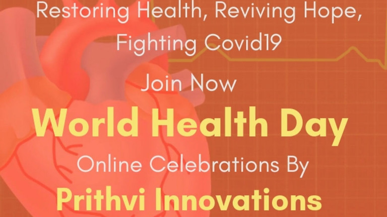 Health in our Hands -  World Health Day celebrations by Prithvi Innovations