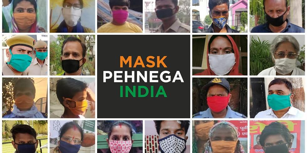Mask Pehnega India Campaign