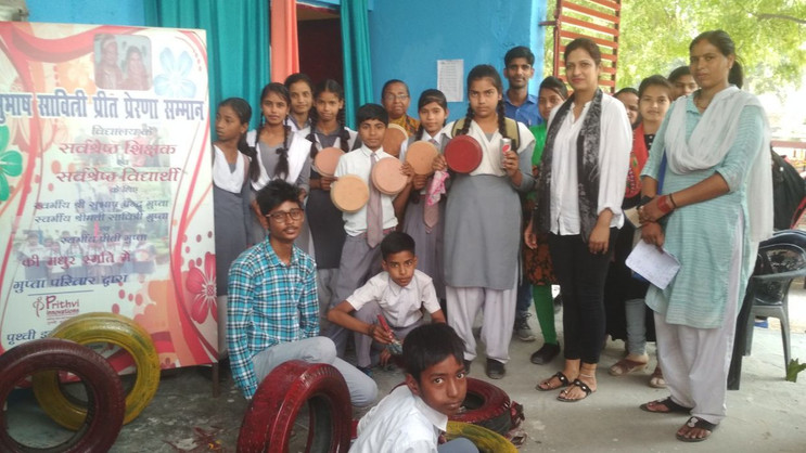 30th Apr.2019-My school , my responsibil