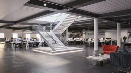 Luda Studios_Mascot_NSW_Office Stairs_Sm