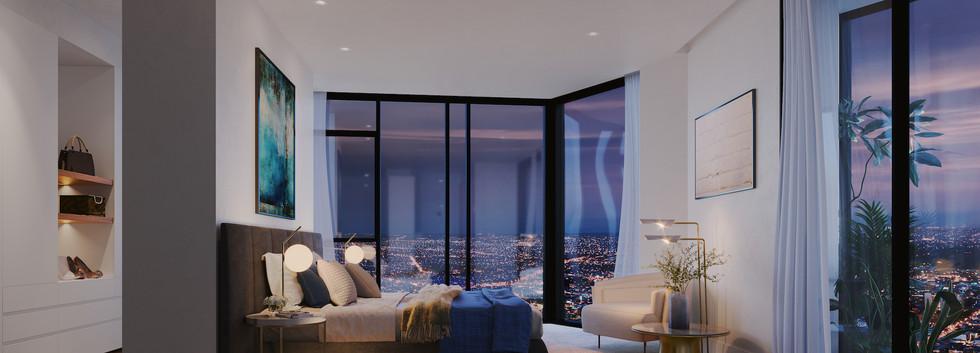 Luda Studios_Master Bedroom Warm Scheme_