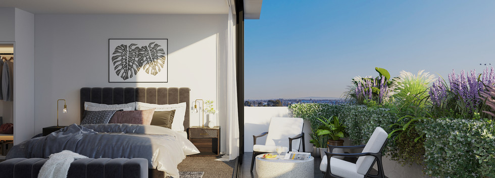 Luda Studios_Bedroom_Balcony_Opt 1_SmlFi