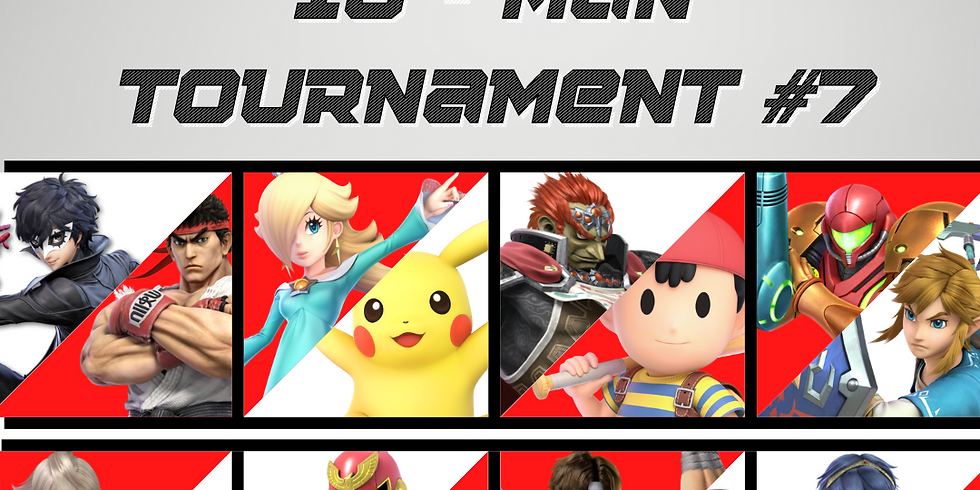 PLEASE GO TO OUR EVENTS PAGE TO SIGN UP FOR TOURNAMENT #8