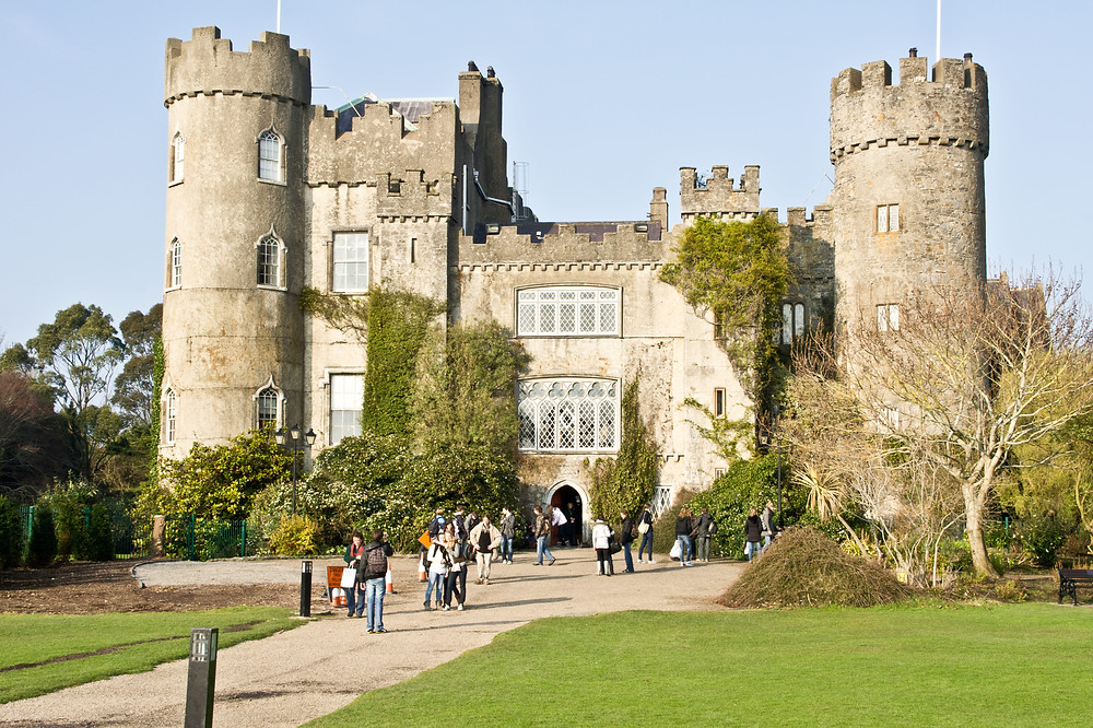 malahide castle ireland photo