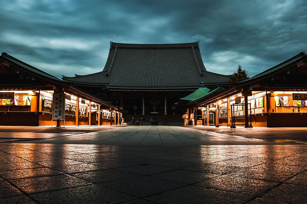 places to visit in Tokyo is Sensō-ji