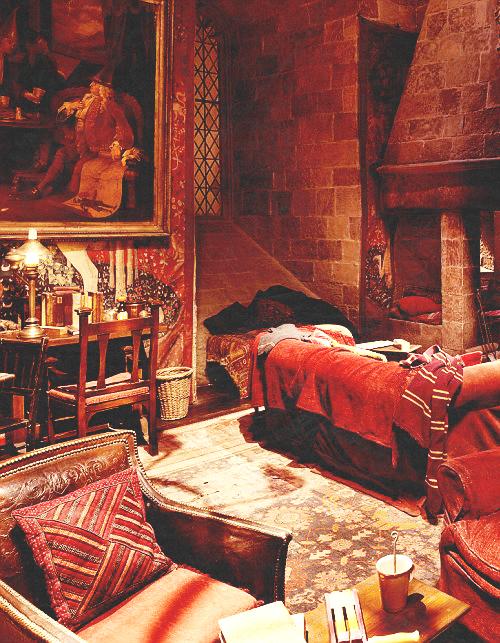 gryffindor room harry potter